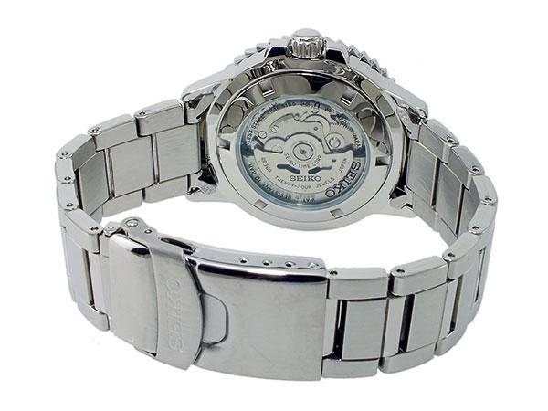 SEIKO 5 SPORTS スポーツ 逆輸入 自動巻き 日本製 メンズ 腕時計 SRP353J1 ブラック×シルバー メタルベルト-3