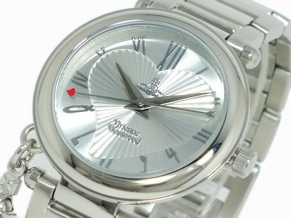 ヴィヴィアン ウエストウッド VIVIENNE WESTWOOD オーブ 腕時計 VV006SL レディース シルバー メタルベルト ブレスレット,1