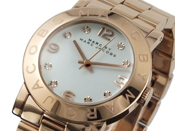 マーク バイ マークジェイコブス MARC BY MARC JACOBS レディース 腕時計 MBM3077 ピンクゴールド メタルベルト-1