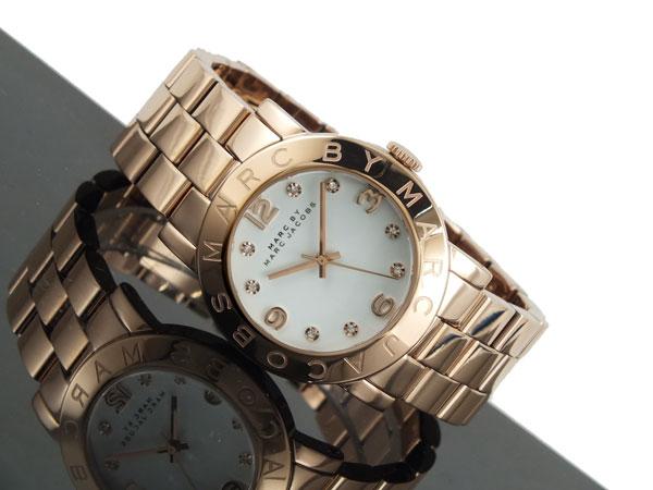 マーク バイ マークジェイコブス MARC BY MARC JACOBS レディース 腕時計 MBM3077 ピンクゴールド メタルベルト-2