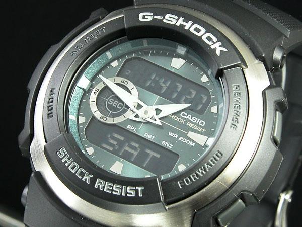 カシオ CASIO Gショック G-SHOCK Gスパイク 腕時計 G-300-3AVDR メンズ-1