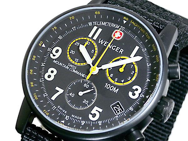 ウェンガー WENGER コマンド クロノグラフ 腕時計 70724XL-1