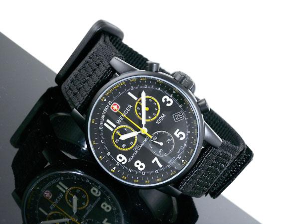 ウェンガー WENGER コマンド クロノグラフ 腕時計 70724XL-2