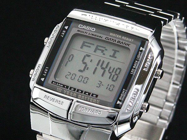 カシオ CASIO データバンク DATA BANK 腕時計 シルバー DB360-1A-1