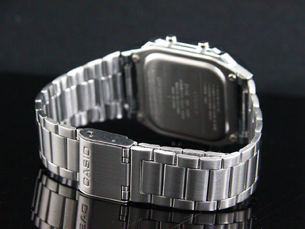カシオ CASIO データバンク DATA BANK 腕時計 シルバー DB360-1A-3