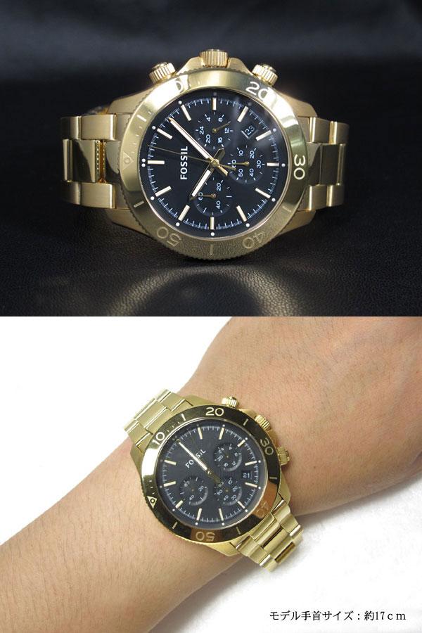 フォッシル FOSSIL 腕時計 レトロトラベラー クロノ CH2861-2