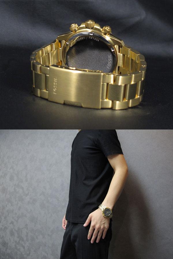 フォッシル FOSSIL 腕時計 レトロトラベラー クロノ CH2861-3