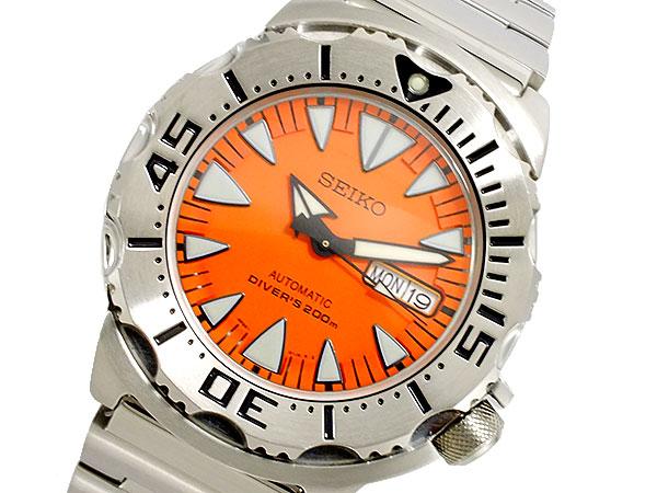 セイコー SEIKO オレンジモンスター 腕時計 自動巻き ダイバー SRP309K1-1