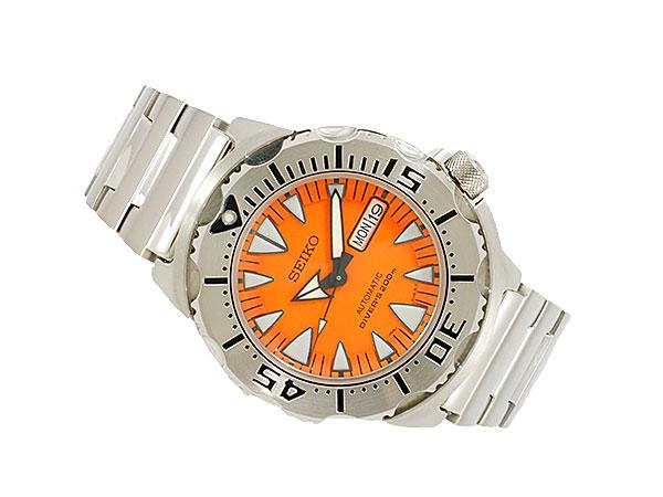 セイコー SEIKO オレンジモンスター 腕時計 自動巻き ダイバー SRP309K1-2