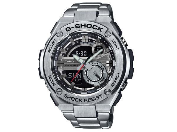 カシオ CASIO Gショック Gスチール メンズ 腕時計 GST-210D-1A-1