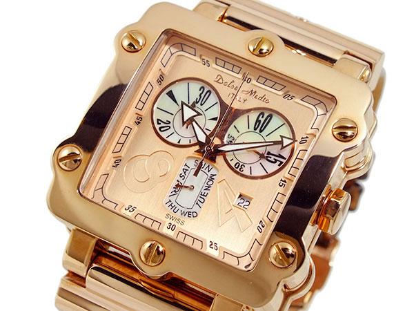 ドルチェ メディオ DOLCE MEDIO 腕時計 DM8018-PGBR-1