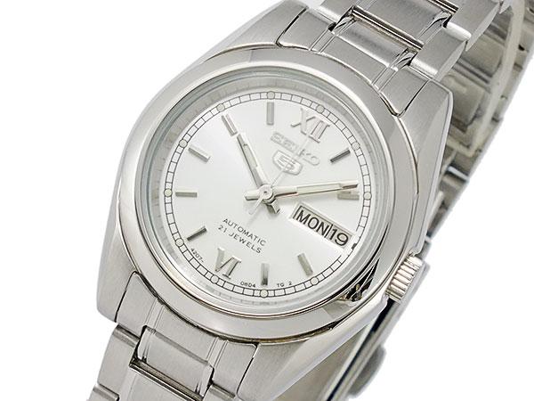 セイコー5 SEIKO 5 逆輸入 自動巻き レディース 腕時計 SYMK23K1 メタルベルト ブレスレット-1