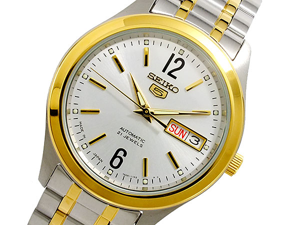 セイコー SEIKO セイコー5 日本製 自動巻 メンズ 腕時計 SNKM58J1-1