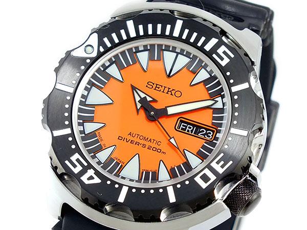 セイコー SEIKO SUPERIOR スーペリア 逆輸入 日本製 ダイバーズ メンズ 腕時計 SRP315J1 オレンジ×ブラック ラバーベルト-1