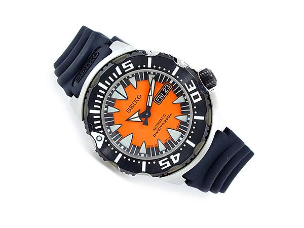 セイコー SEIKO SUPERIOR スーペリア 逆輸入 日本製 ダイバーズ メンズ 腕時計 SRP315J1 オレンジ×ブラック ラバーベルト-2