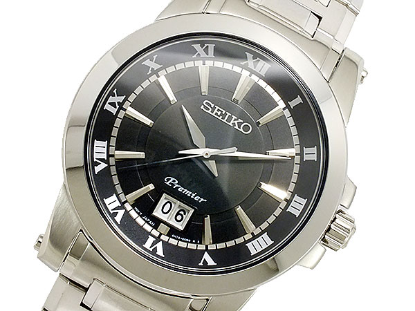セイコー SEIKO Premier クオーツ メンズ 腕時計 SUR015P1-1