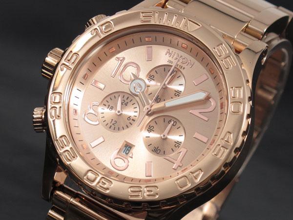 ニクソン NIXON 42-20 CHRONO 腕時計 A037-897 ALL ROSE GOLD-1