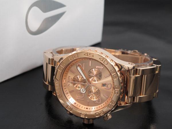 ニクソン NIXON 42-20 CHRONO 腕時計 A037-897 ALL ROSE GOLD-2