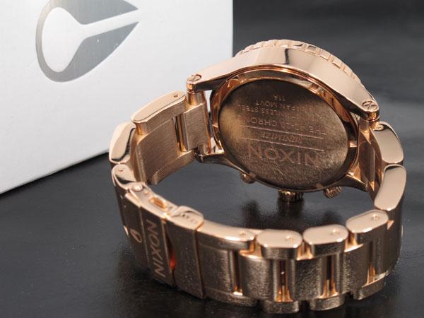 ニクソン NIXON 42-20 CHRONO 腕時計 A037-897 ALL ROSE GOLD-3