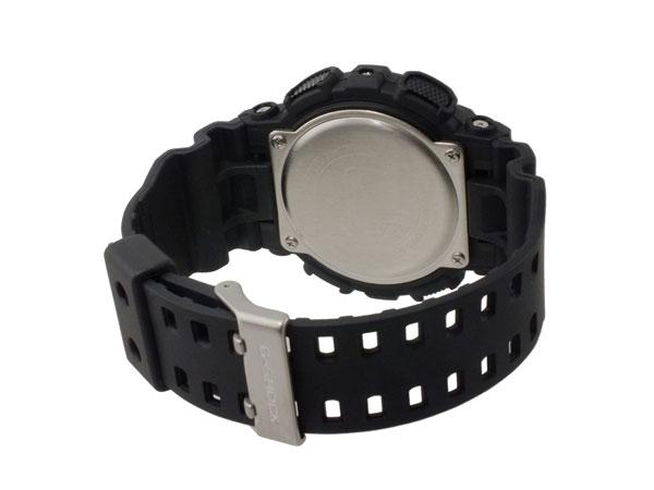 カシオ CASIO Gショック G-SHOCK アナデジ メンズ 腕時計 GA-100C-1A3 ブラック×グリーン ラバーベルト-3