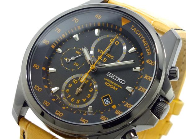 セイコー SEIKO クロノグラフ 腕時計 SNDD69P1 キャメル-1