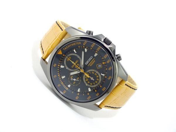 セイコー SEIKO クロノグラフ 腕時計 SNDD69P1 キャメル-2
