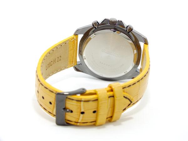 セイコー SEIKO クロノグラフ 腕時計 SNDD69P1 キャメル-3