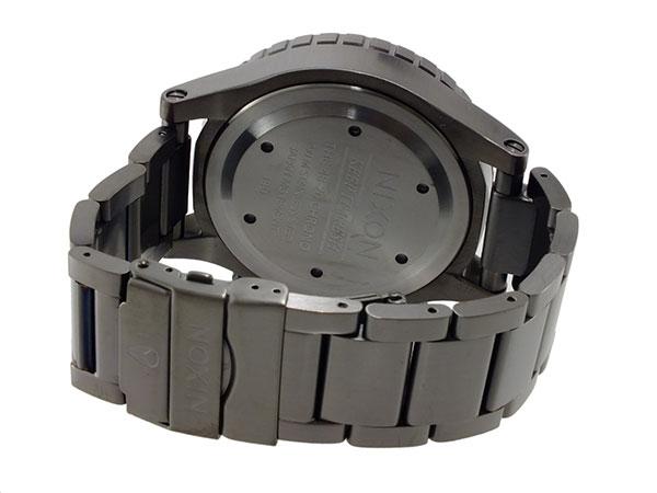 ニクソン NIXON 48-20 クロノグラフ メンズ 腕時計 A486-632 オールガンメタ グレー メタルベルト-3