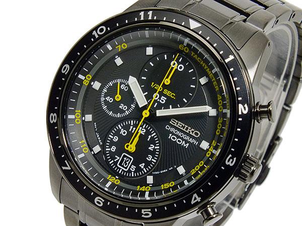 セイコー SEIKO 1/20秒クロノグラフ アラーム メンズ 腕時計 SNDF43P1-1