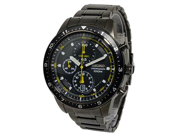 セイコー SEIKO 1/20秒クロノグラフ アラーム メンズ 腕時計 SNDF43P1-2
