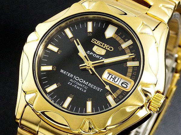 セイコー SEIKO セイコー5 スポーツ 5 SPORTS 日本製 自動巻き 腕時計 SNZ452J1 メンズ-1