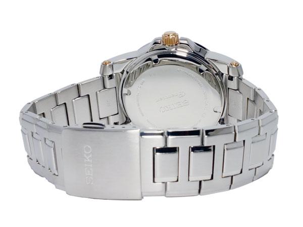 セイコー SEIKO プルミエ 逆輸入 キネティック ビッグデイト パーぺチュアル メンズ 腕時計 SNP098P1 メタルベルト-3