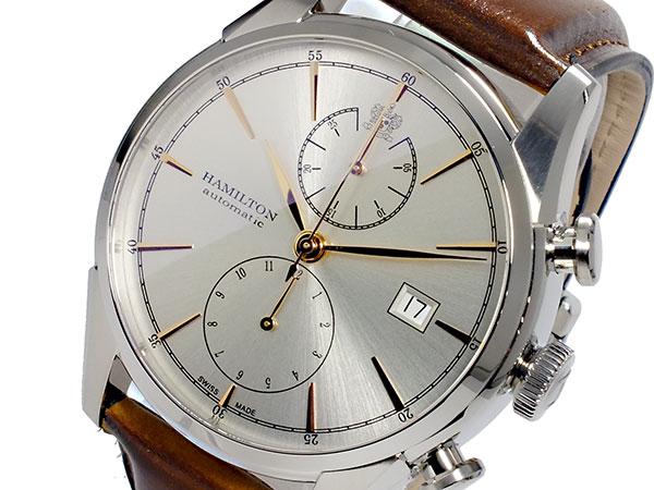 ハミルトン HAMILTON スピリットオブリバティ Spirit of Liberty 自動巻き メンズ クロノグラフ 腕時計 H32416581-1