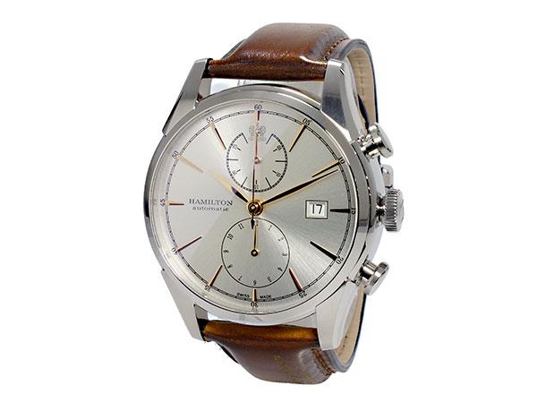 ハミルトン HAMILTON スピリットオブリバティ Spirit of Liberty 自動巻き メンズ クロノグラフ 腕時計 H32416581-2