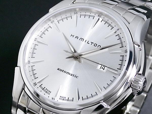 ハミルトン HAMILTON ジャズマスター 自動巻き スイス製 腕時計 H32715151 シルバー メタルベルト-1
