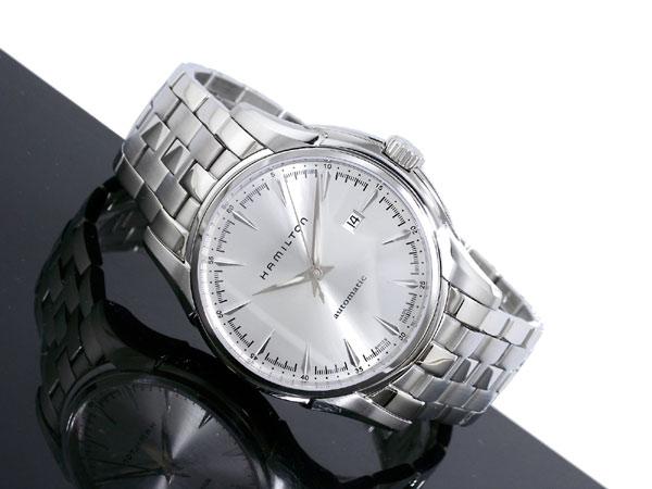 ハミルトン HAMILTON ジャズマスター 自動巻き スイス製 腕時計 H32715151 シルバー メタルベルト-2