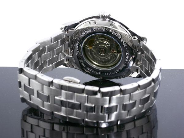 ハミルトン HAMILTON ジャズマスター 自動巻き スイス製 腕時計 H32715151 シルバー メタルベルト-3