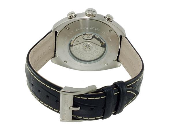 ハミルトン HAMILTON パンユーロ 自動巻き クロノグラフ 腕時計 メンズ H35756755-3