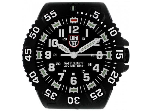 ルミノックス LUMINOX LED発光 腕時計風 掛け時計 クロック BIG40-1