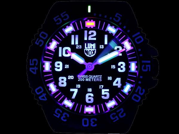 ルミノックス LUMINOX LED発光 腕時計風 掛け時計 クロック BIG40-2