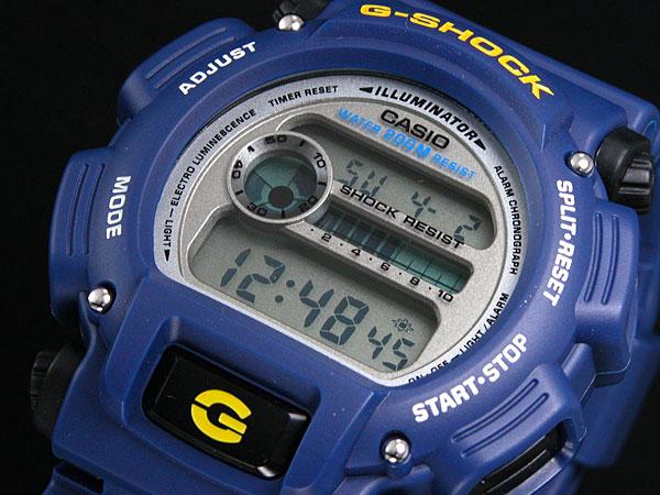 カシオ CASIO Gショック G-SHOCK 逆輸入 デジタル メンズ 腕時計 BASIC ベーシック DW-9052-2 ブルー-1