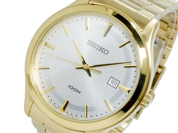 セイコー SEIKO クォーツ メンズ 腕時計 SUR054P1 ゴールド-1