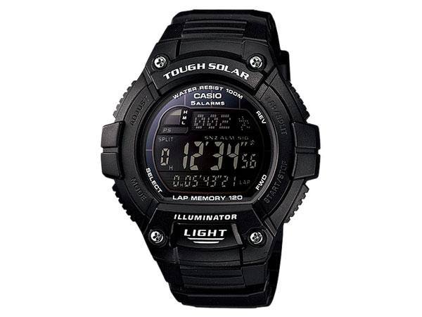 カシオ CASIO スポーツ デジタル タフソーラー 腕時計 W-S220-1B-1
