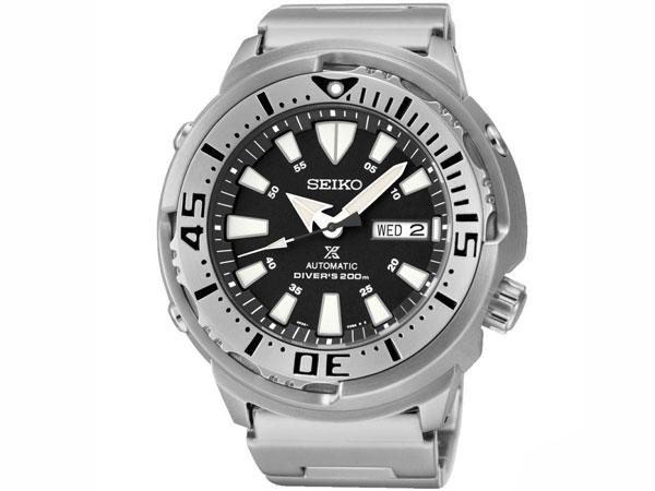 セイコー SEIKO PROSPEX プロスペックス 自動巻き ダイバーズ メンズ 腕時計 SRP637K1 ブラック×シルバー-1