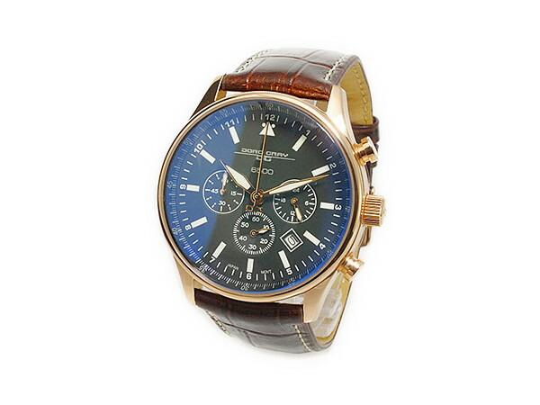 ヨーグ グレイ JORG GRAY シークレットサービス エディション クオーツ メンズ クロノグラフ 腕時計 JG6500-51 レザーベルト-2