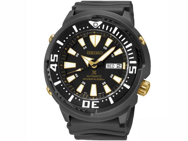 セイコー SEIKO PROSPEX プロスペックス 自動巻き ダイバーズ メンズ 腕時計 SRP641K1 ブラック ラバーベルト-1