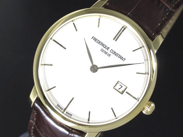 FREDERIQUE CONSTANT フレデリック コンスタント 自動巻き スイス製 メンズ 腕時計 FC-306V4S5 レザーベルト-1