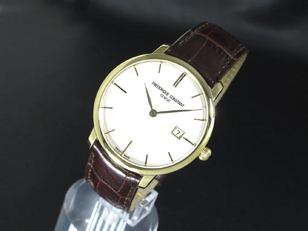 FREDERIQUE CONSTANT フレデリック コンスタント 自動巻き スイス製 メンズ 腕時計 FC-306V4S5 レザーベルト-2