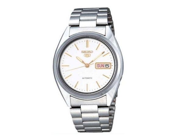 SEIKO 5 セイコー5 逆輸入 自動巻き メンズ 腕時計 SNXG47K メタルベルト-1