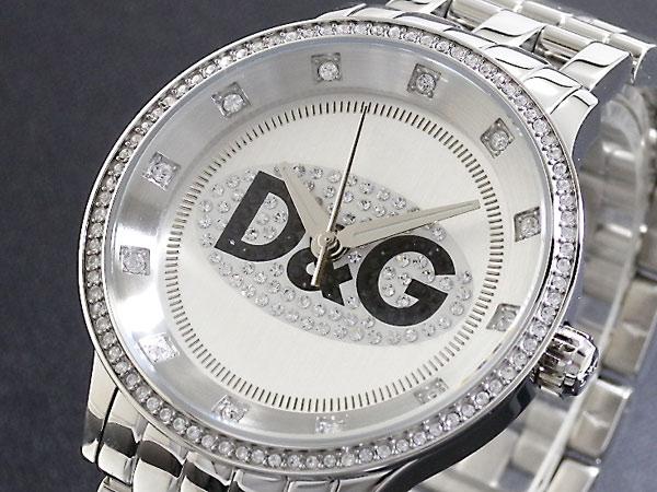 D&G ドルチェ&ガッバーナ 腕時計 プライムタイム  DW0145 メンズ レディース シルバー メタルベルト ブレスレット-1